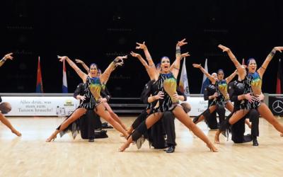 Latinteam  behaalt 9e plaats op hun eerste WK